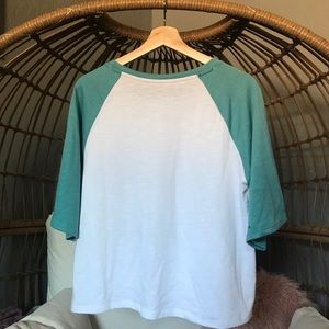Tops - Super Soft Flare Sleeve Baseball Tee